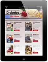 Diabetes Lifelines Newsstand Screenshot