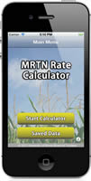 MRTN Rate Calculator Screenshot