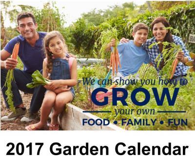 2017 garden calendar