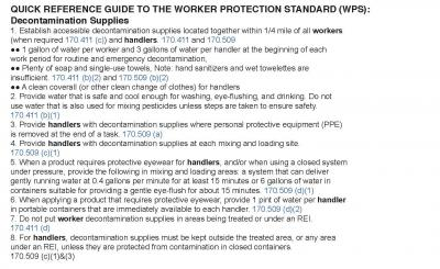 Decontamination Supplies Quick Reference Guide WPS