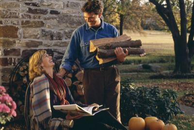 Firewood Couple