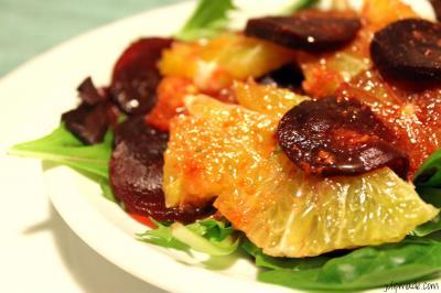 beet grapefruit salad
