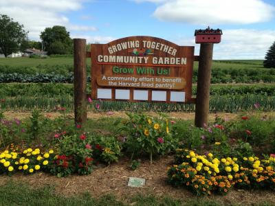 Mchenry Growing Together garden