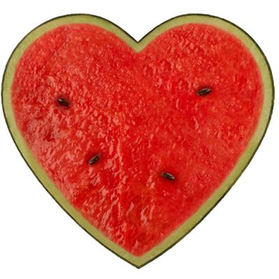 Heart Plain Watermelon th