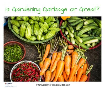 Is Gardening Garbage or Great