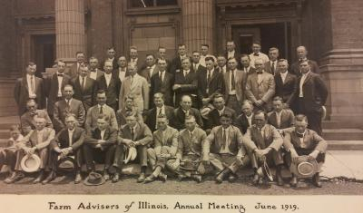 1919 Annual Farm Adviser Meeting