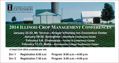 2014 Crop Management Conferences