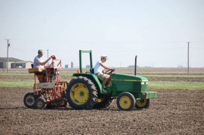 oats planting 2012