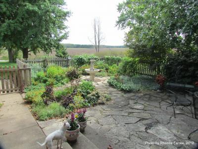 herb garden on 9-17-12