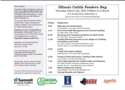 IL Cattle Feeders Day