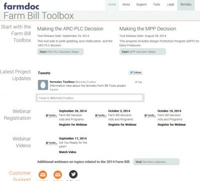 farmdoc toolbox