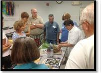 Master Gardener Margaret Kelly gives iris presentation as part of the Summer Gardening Series.