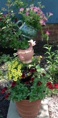Teapot planter Bodensteiner Home