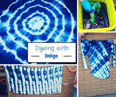Dying with indigo
