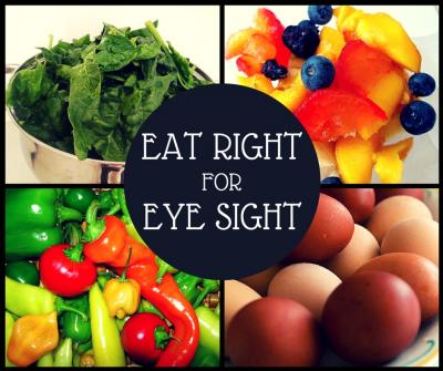 Eat Right for Eye sight