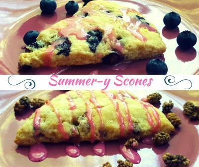 Summer-y Scones