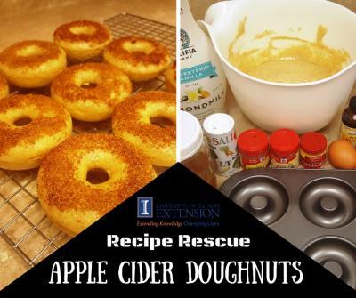 apple cider doughnuts canva