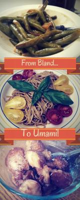 from bland to umami