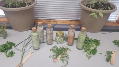 herb class infused salts