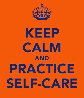 keep calm self care