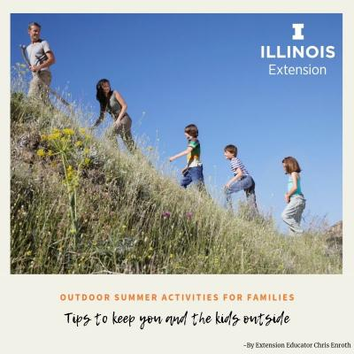 Outdoor activities for families - take a hike!