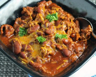 Quick Chili reduced size