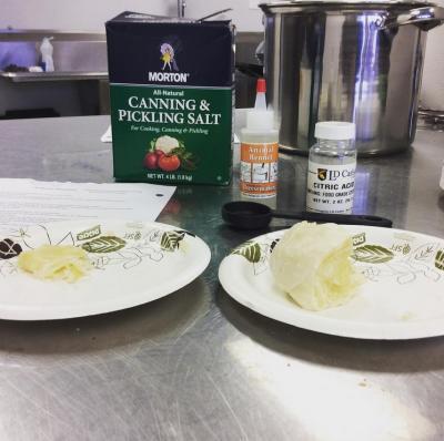 Cheese practice - 30 min mozerella