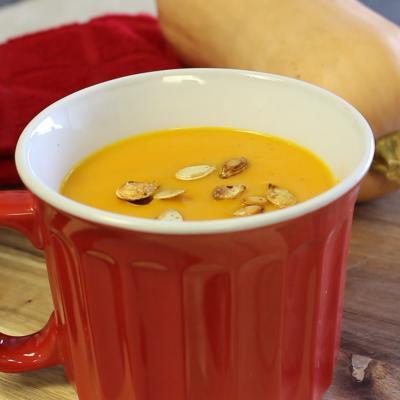 Squash soup - video