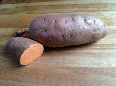Sweet Potato with  cut 1