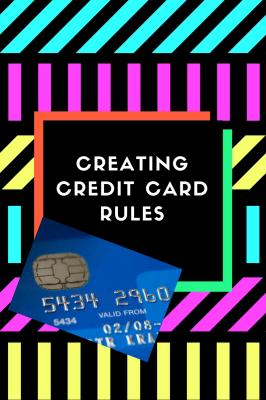 Credit Card Rules