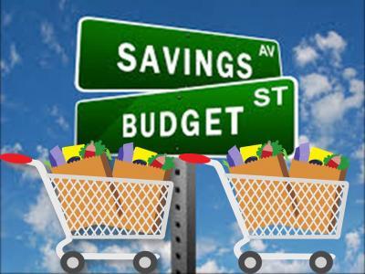 July 2015 food budget