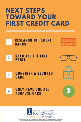 Steps Toward Your First Credit Card-part 2
