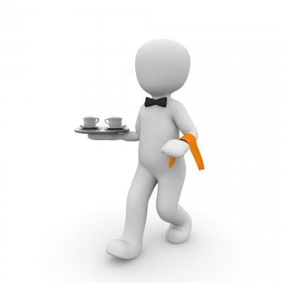 waiter-1015622 1920
