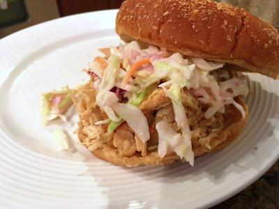Apple Cider Pulled Chicken