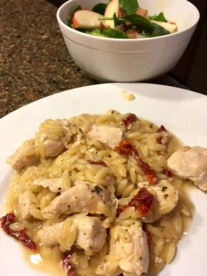 Sundried Tomato Chicken Orzo