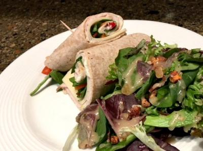 Turkey Wrap Salad