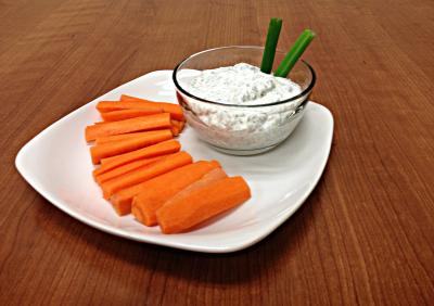 Vegetable Dip with Dill