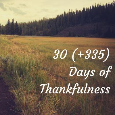 30   335 Days of Thankfulness