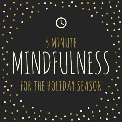 5 minute mindfulness