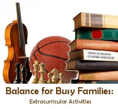 balance for busy families