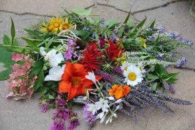 Harvest of Garden Flowers