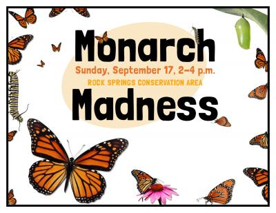 Monarch Madness Flyer - Scroller