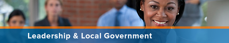 Leadership and Local Government