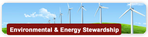 Environment and Energy Stewardship