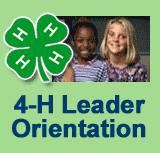 New volunteer leaders can learn about 4-H via this web orientation.