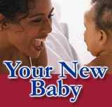 Learn about why your new baby cries, when your baby will sleep all night, and how to find quality infant child care.