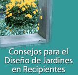 Consejos para el Diseño de Jardines en Recipientes