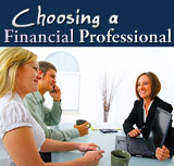 Choosing a Financial Professional