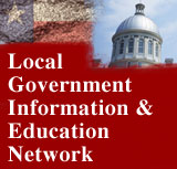 Provides a variety of programs and materials for local government officials in Illinois.