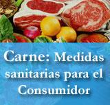 Carne: Medidas santiarias para el Consumidor